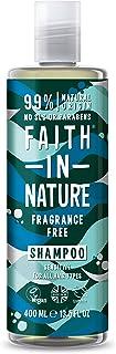 Faith in Nature Champú Natural sin Fragancia Piel Sensible Vegano y No Testado en Animales sin Parabenos ni SLS para T...