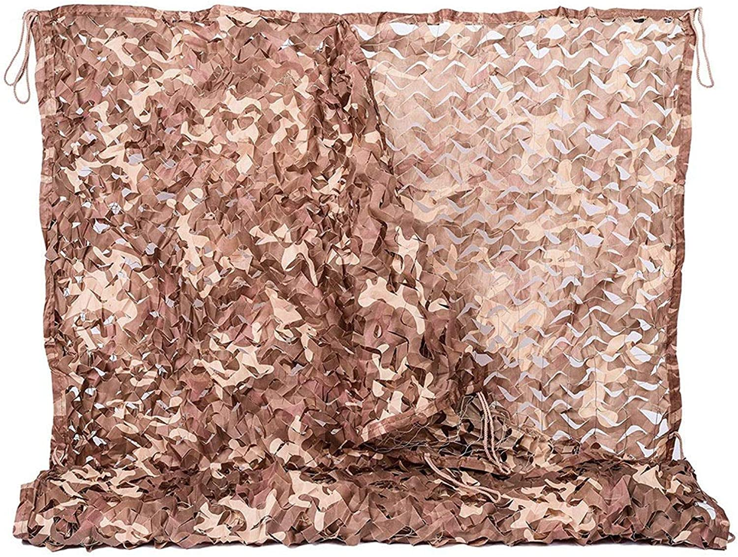Virod Shade Sails Camo Netting, Camouflage Net Blinds Great for Camping Hunting Shooting Sunscreen Nets Light Weight Waterproof Garden Netting (Size   22×22ft 6.8×6.8m)