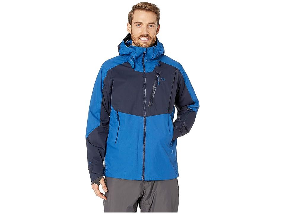 Mountain Hardwear FireFall Jacket (Nightfall Blue) Men