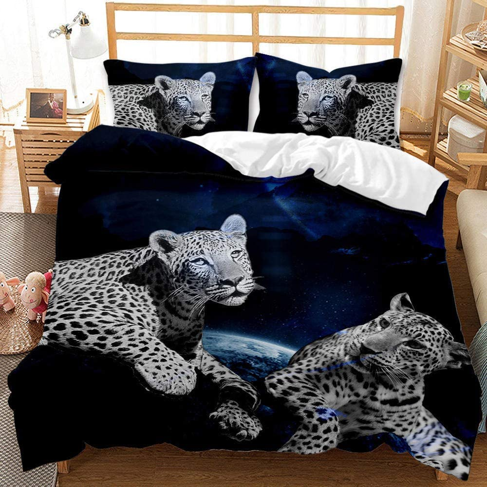 Wild Animal Cheetah 3D Printed Cheap mail order specialty store Bedding Leopard Wholesale Cover Duvet 3pcs