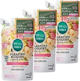 【まとめ買い】リセッシュ 除菌EX プレジャーブーケ 消臭芳香剤 液体 朝露にぬれるガーデンローズの香り 詰替用 320ml×3