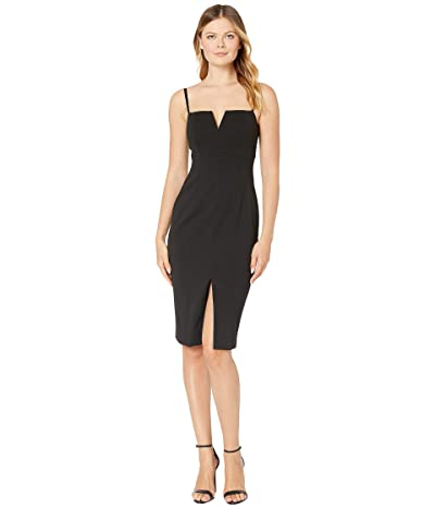 Vince Camuto Sleeveless Bodycon with Shoulder Strap (Black) Women