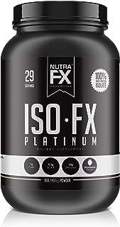 Whey Isolate Protein Powder, FX Supps 100% Whey Protein Powder 25g of Protein + 6g BCAAS - Post Workout Protein Supplement...