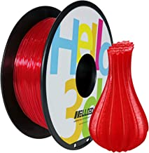 1 Spool,Trans Yellow GEEETECH TPU Filament 1.75mm 0.88lbs Dimensional Accuracy +//- 0.05 mm,0.4KG Flexible TPU Consumables for 3D Printer