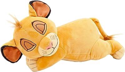 MORIPiLO モリシタ ライオンキング シンバ 抱き枕 オレンジ ミニ添い寝枕 ディズニー 28×15×15cm