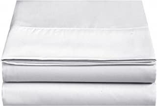 Best white king flat sheet Reviews