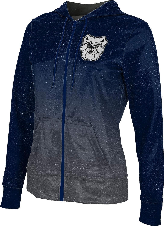 ProSphere Butler University Girls' Zipper Hoodie, School Spirit Sweatshirt (Ombre)