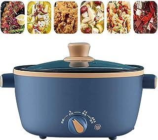 BBZZ Poêle à frire électrique multi-cuiseur Wok électrique haute capacité Marmite chaude riz, cuiseur de riz antiadhésif M...