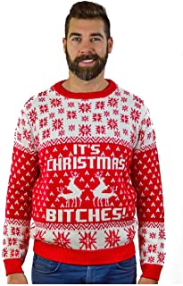 It's Christmas Ugly Sweater Funny Humping Reindeer Men Women Sweater