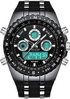 Big Face Sports Watch for Men, Waterproof Military Wrist...