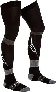 AXO Unisex-Adult MX long socks - A logo kids (Black, One Size)