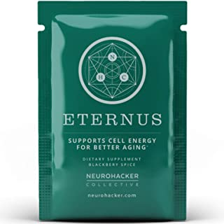 Eternus - Cell Energy for Better Aging | Comprehensive Cell Food Supplement | Niagen NAD+ Booster (20 Satchets)