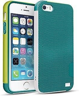 2b6a14386d7 HanLuckyStars Funda iPhone TPU Funda Carcasa para iPhone SE/5s/5, iPhone 5S