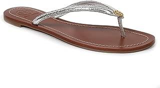 Tory Burch Womens 11168620 Patent Leather Magenta Terra Thong Sandal
