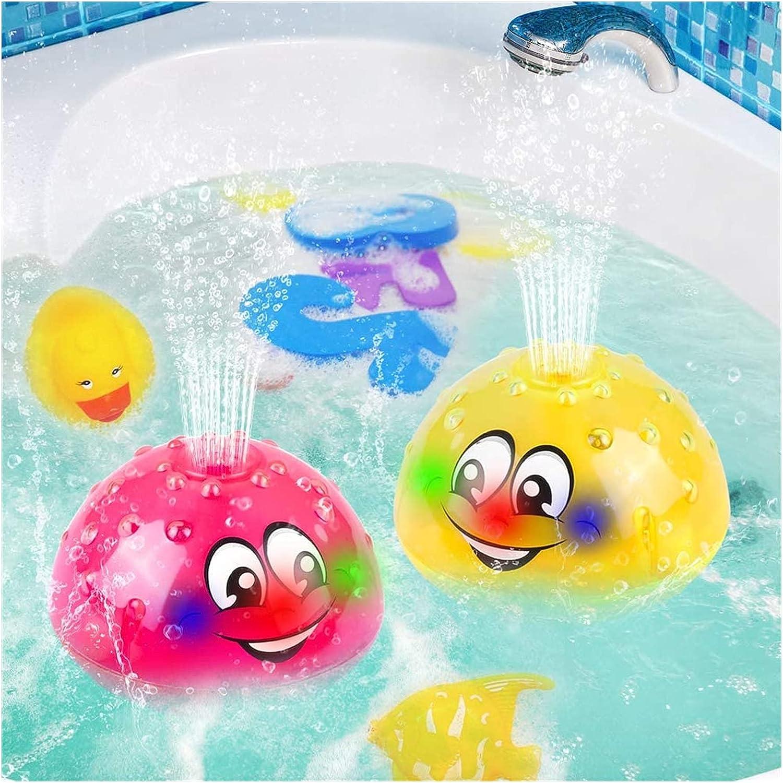 Baby Bath Dedication Toys 2021 model 2 x Electric Induction Water Fun Toy Spray