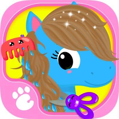 Cute & Tiny Horses - Baby Pony Care & Hair Salon