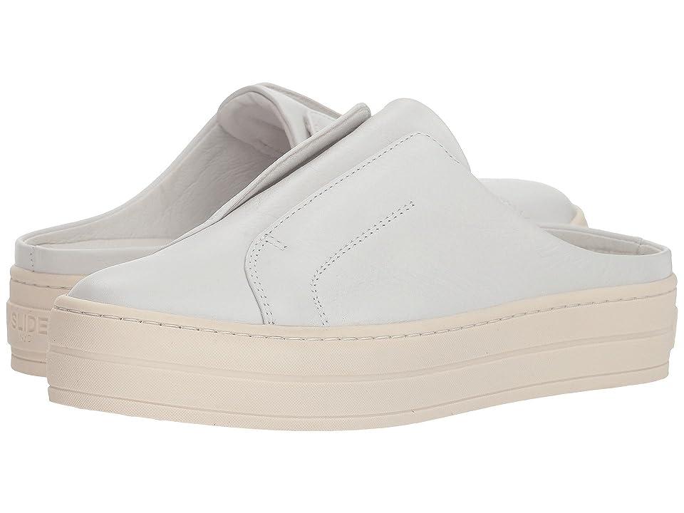 J/Slides Hara (White Leather) Women