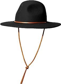 Men's Tiller Iii Wide Brim Felt Fedora Hat