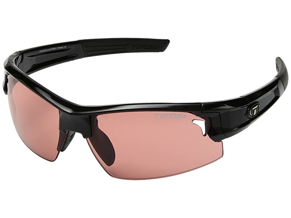 Tifosi Optics Synapse (Gloss Black 2) Athletic Performance Sport Sunglasses