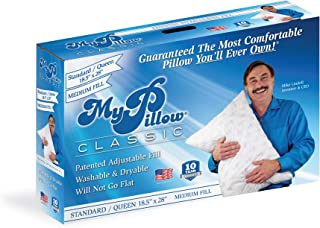 MyPillow Classic Pillow (Standard/Queen, White [Medium])