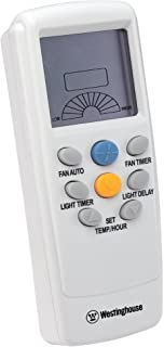 Westinghouse Lighting 7787400 Thermostat Ceiling Fan and Light Remote Control for Fans