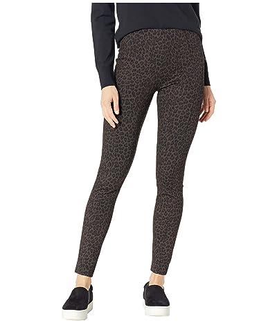 Liverpool Reese High-Rise Ankle Leggings in Cheetah Patterned Ponte Knit (Cheetah) Women
