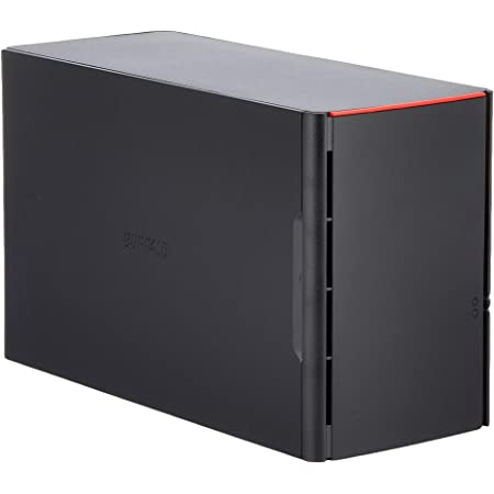 BUFFALO リンクステーション for SOHO RAID機能搭載 高信頼HDD WD Red採用 ネットワークHDD(NAS) 3年保証 2TB LS220DN0202B