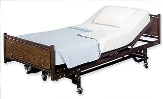 Bella Kline 100% Cotton Jersey Knit Hospital Bed Bottom Fitted Sheet