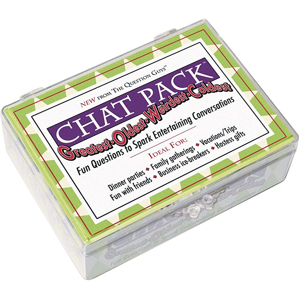 Chat Pack Greatest-Oldest-Weirdest-Coldest: Fun Questions to Spark Entertaining Conversations uxsmz9237