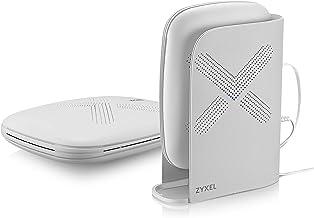 Zyxel Multy Plus AC3000 Sistema WiFi de malla de triple banda para empresas, 2 pack [WSQ60-EU0201F]
