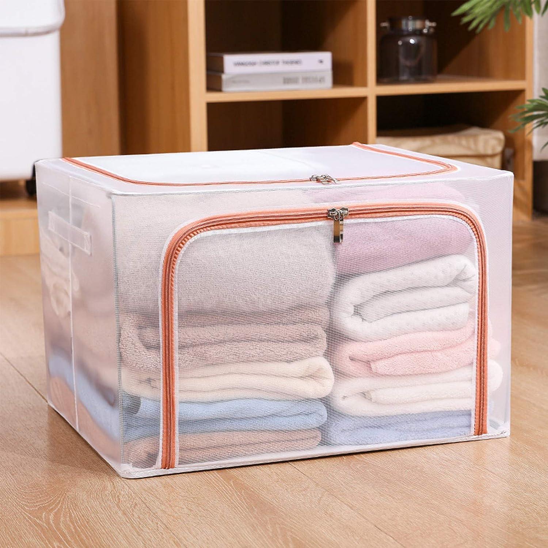 WENTING Large Foldable Storage Visible Box Sacramento Virginia Beach Mall Mall B Transparent