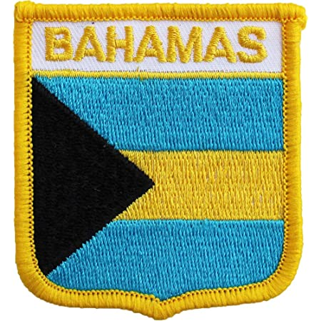 Bahamas Crest Flag Embroidered Patch