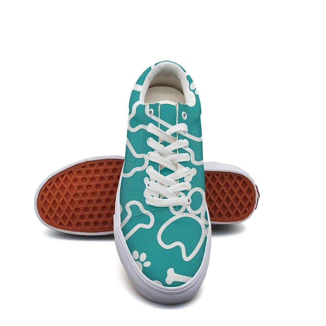 シールド感染する配管Ouxioaz レディース キャンバスシューズ カジュアルカートゥーン かわいい犬 スポーツ靴ひも