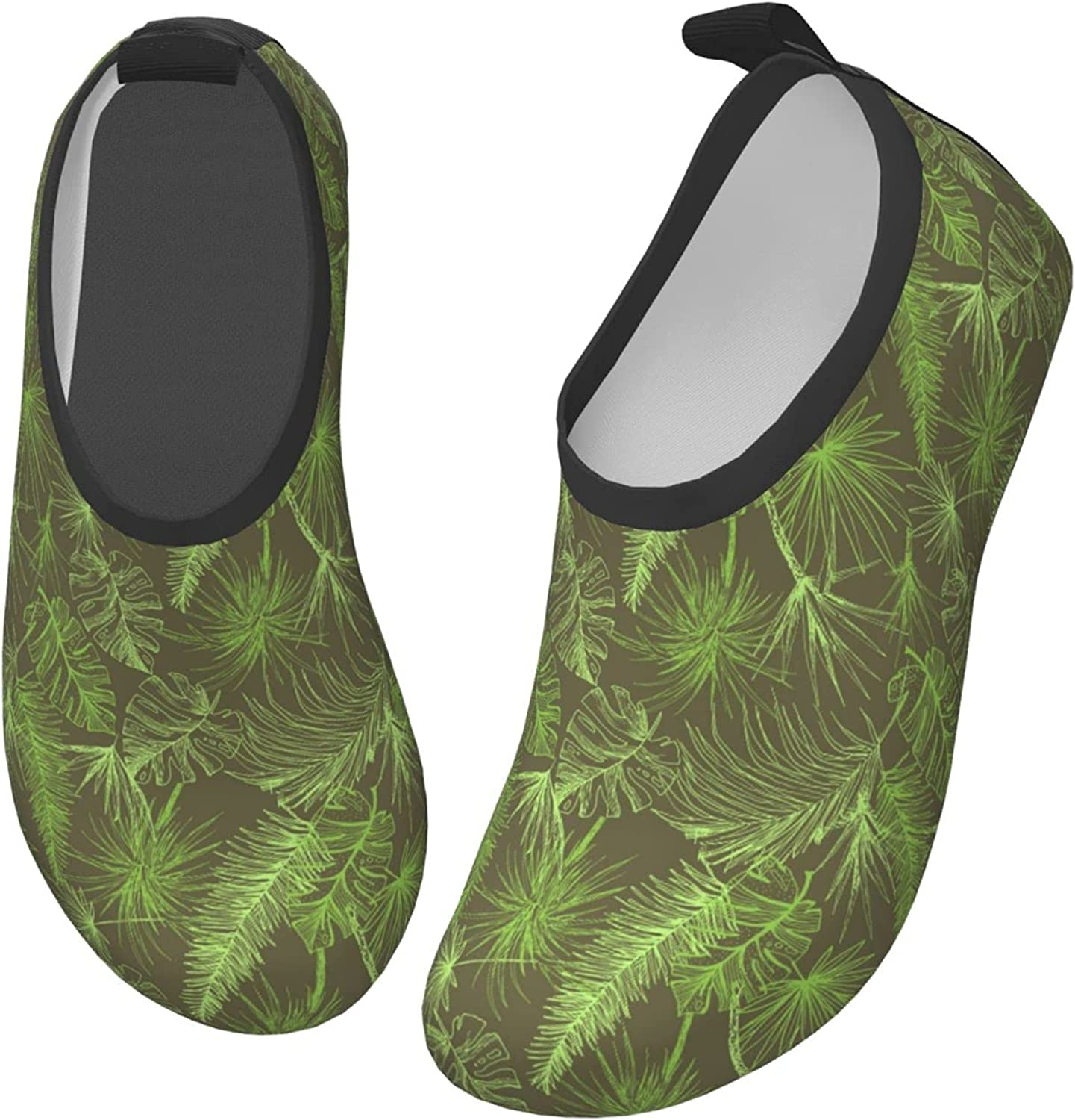 Jedenkuku Style Coconut Leaves Hawaii Children's Water Shoes Feel Barefoot for Swimming Beach Boating Surfing Yoga