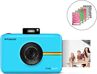 Polaroid SNAP Touch 2.0 - 13MP Portable Instant Print Digital Photo Camera w/Built-in Touchscreen Display, Blue