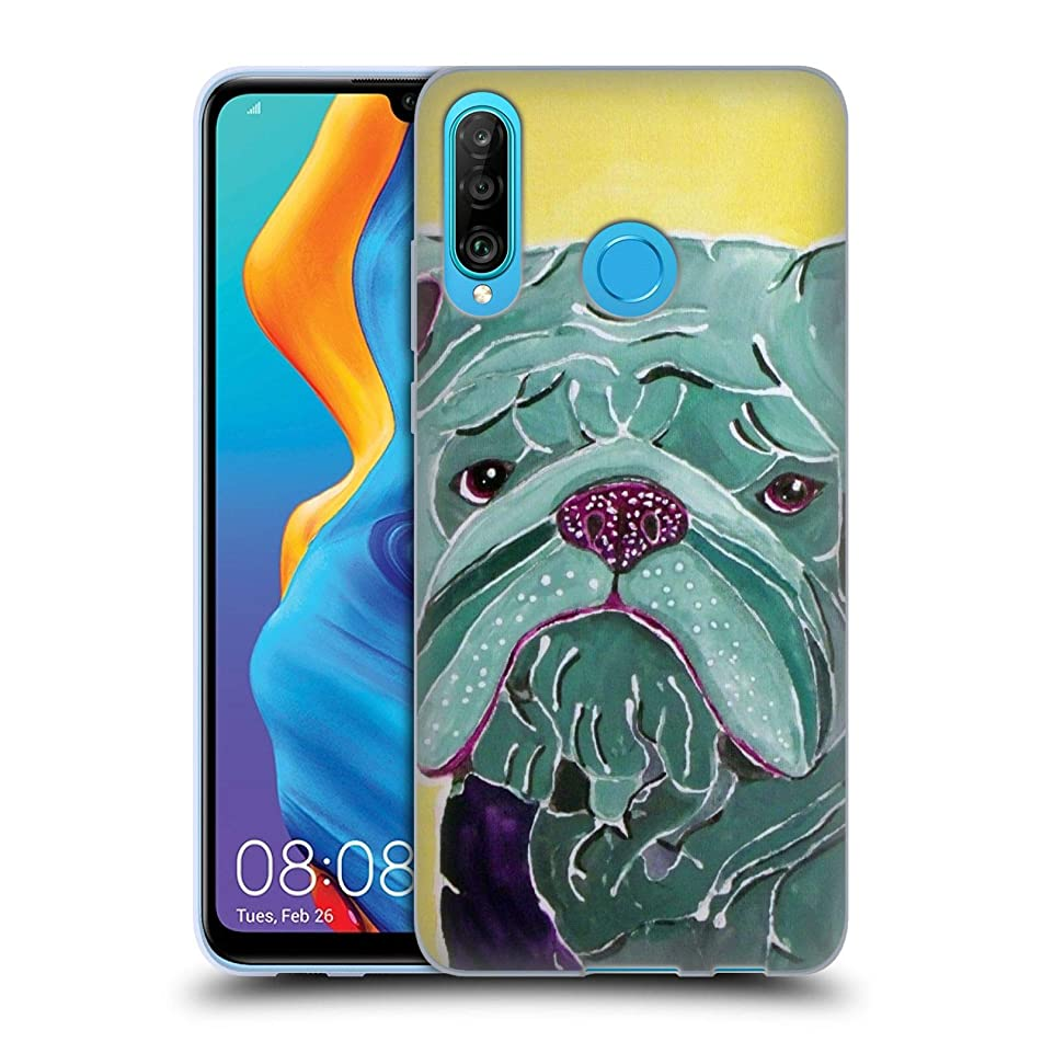 Official Lauren Moss Roscoe Dogs Soft Gel Case Compatible for Huawei P30 Lite