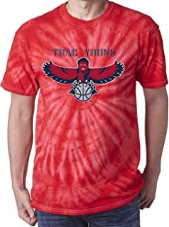 TIE-DYE RED Atlanta Young Logo T-Shirt