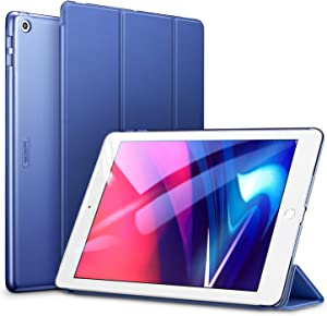 ESR Yippee Trifold Smart Case for iPad 6th Generation 2018/2017 (Not for iPad 10.2) [Lightweight] [Multi-Angle Viewing Stand Case] [Auto Sleep/Wake] for iPad 5th/6th Gen - Navy Blue