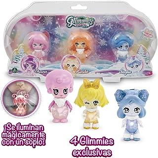 Glimmies Dolls with Light, Multicoloured (GIOCHI PREZIOSI glp02000)