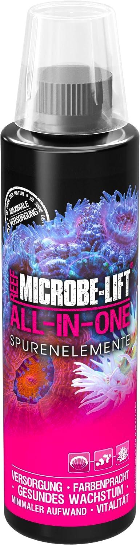 MICROBE-LIFT All-In-One - Oligoelementos y vitaminas para un Cuidado Ideal de los corales, Alto Rendimiento,