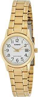 Casio Women's Dial Stainless Steel Band Watch - LTP-V002G-7B2UDF