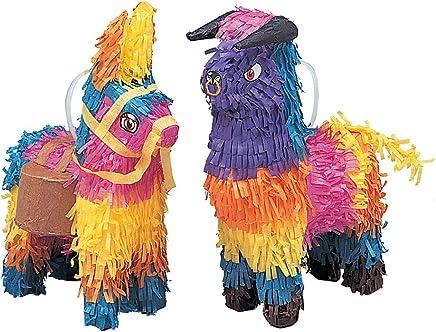 Mini Bull or Donkey Pinata Decorations