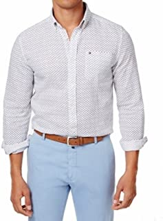 Mens Mini Floral Button Up Shirt