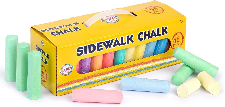 Jumbo Washable Max 85% OFF Sidewalk Chalk Set Non-Toxic for Ranking TOP18 Pai