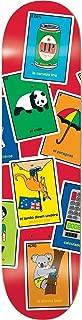 Enjoi Pilz La Loteria SKATEBOARD DECK ONLY - 8.0 R7 - (Bundled with FREE 1'' Hardware Set)