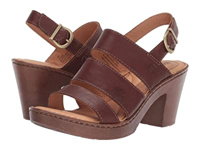 Born Warner (Brown Full Grain Leather) Women