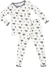 KYTE BABY Toddler Pajama Set - Pjs for Toddlers Made of Soft Organic Bamboo Rayon Material