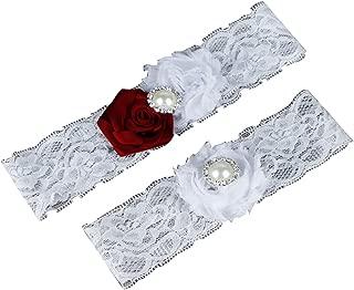 Haydice Wedding Bridal Garter Handmade Flower Sexy Lace Garter Leg Ring Bridal Party Accessories