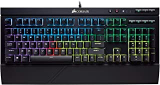 Corsair K68 RGB Mechanical Gaming Keyboard, Black