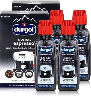 Durgol swiss Espresso Descalcificador Especial para Todas